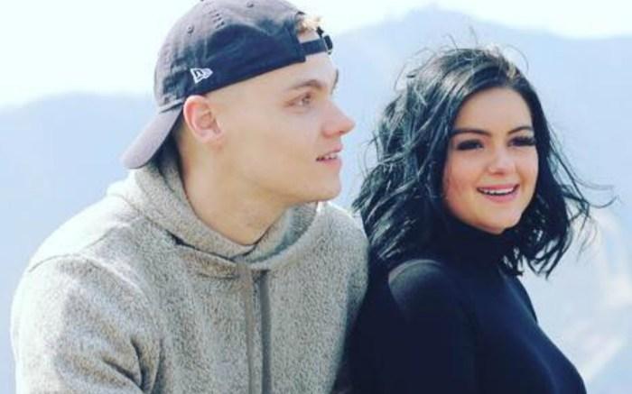 Ariel Winter's boyfriend Levi Meaden shares an Instagram of their trip in China.