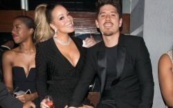 Mariah Carey and her boyfriend Bryan