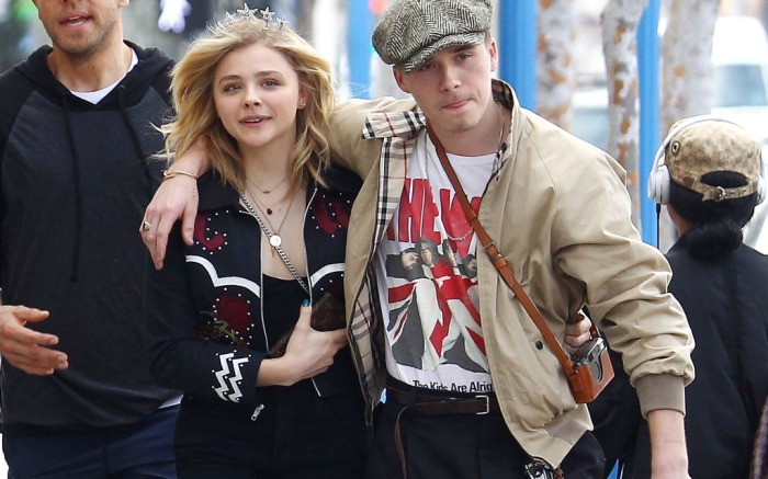 Chloë Grace Moretz and Brooklyn Beckham couldn't be more excited to celebrate the actress' birthday.