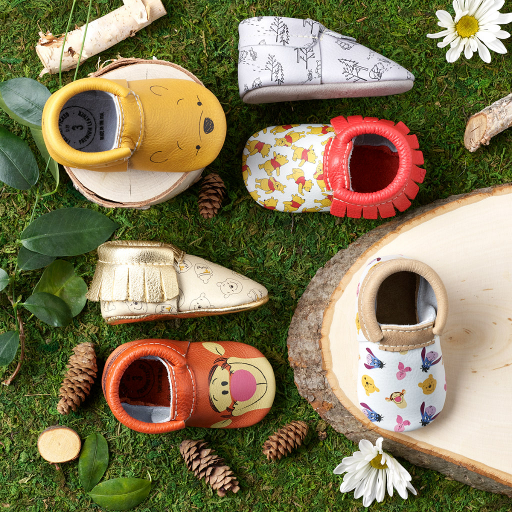 freshly picked winnie the pooh baby shoes