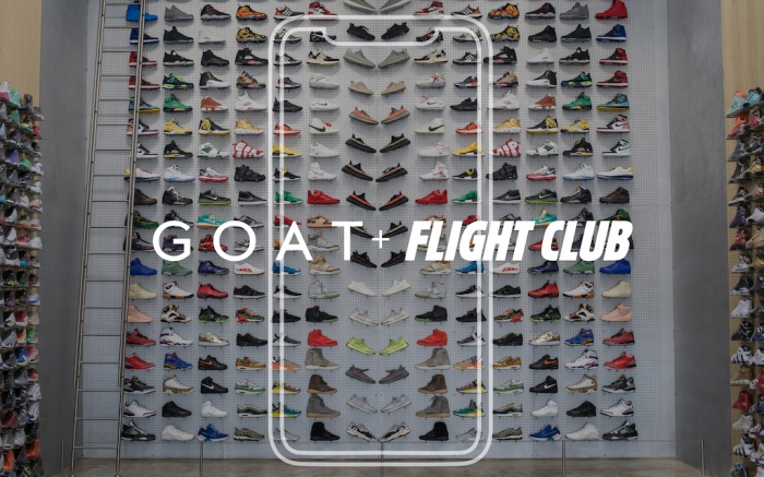 GOAT Flight Club Partnership