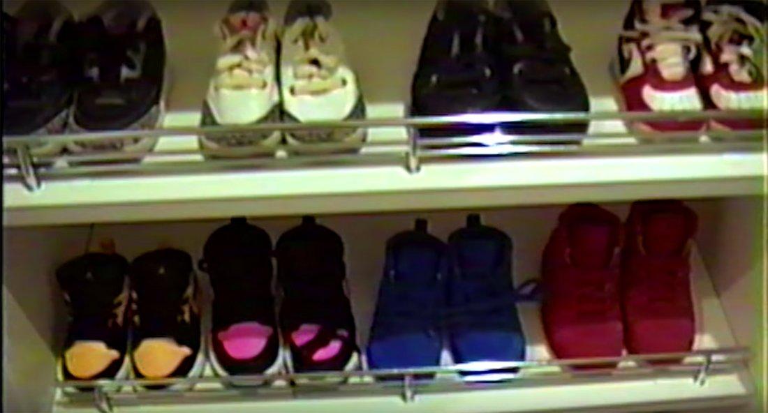 kylie jenner daughter shoe closet