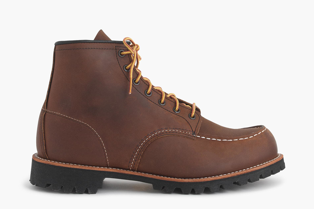 J. Crew x Red Wing Roughneck Boots