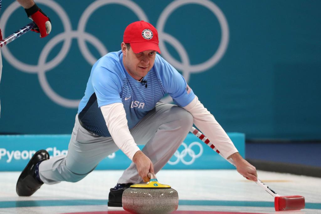 John Shuster, Team USA, men's curling