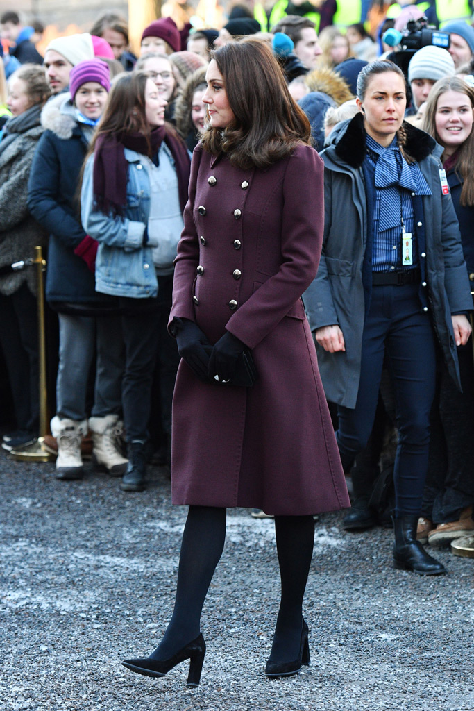 Kate Middleton, tod's, coat, norway