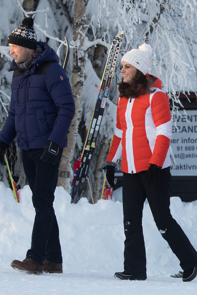 Kate Middleton Norway SKi