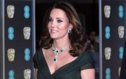 Kate Middleton baftas duchess of cambridge