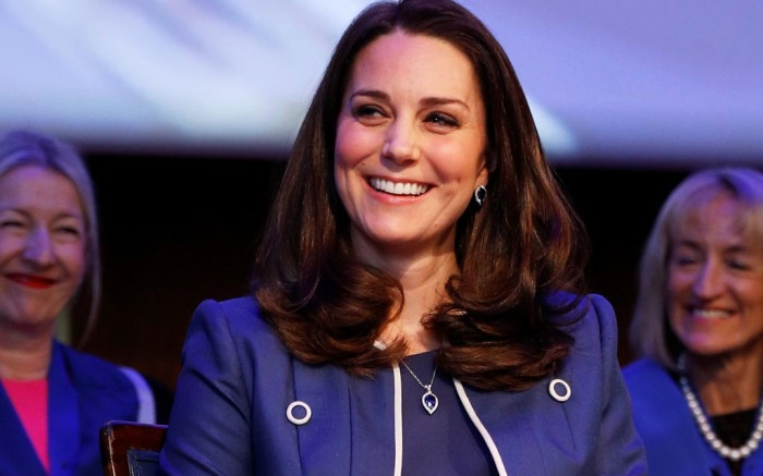 Kate Middleton, jenny peckham dress, blue, nursing now