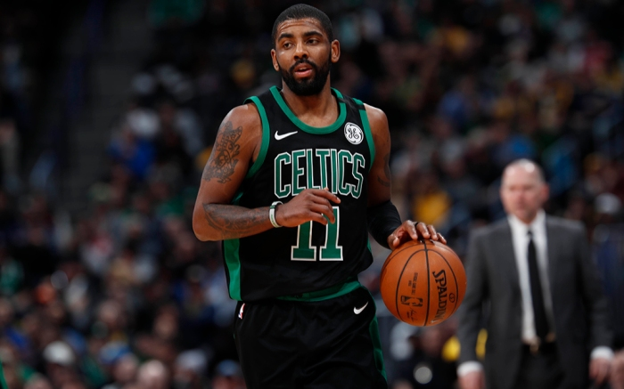 Boston Celtics Nike Kyrie Irving