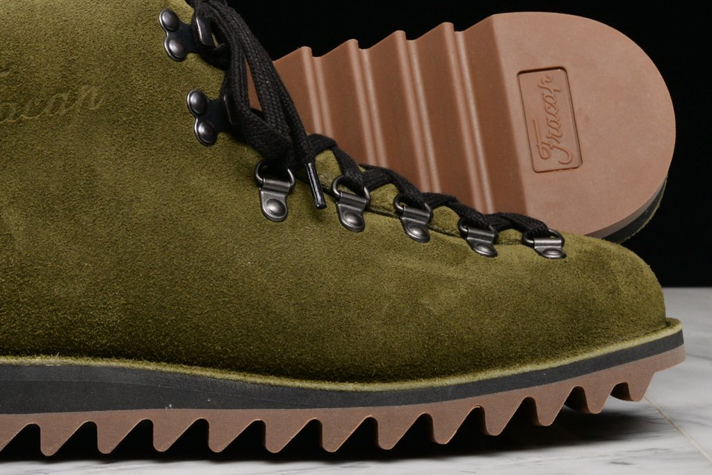 Lapstone and Hammer x Fracap M120 Olive Suede