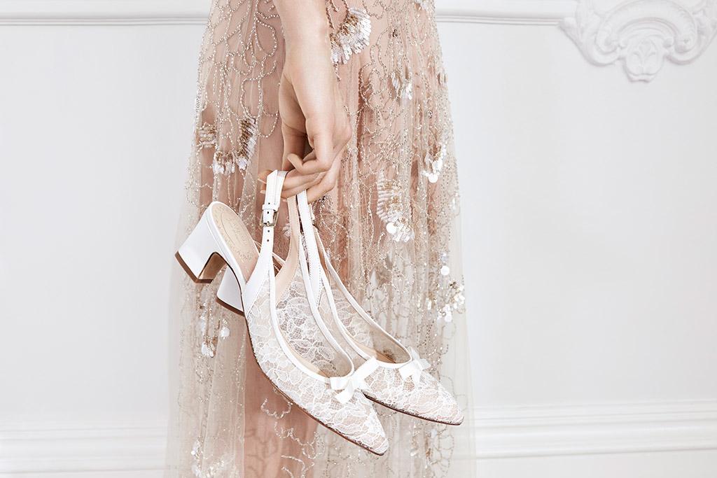 L.K. Bennett x Jenny Packham bridal shoes