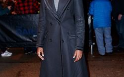 Celebs Dressed in Matrix-Inspired Outfits