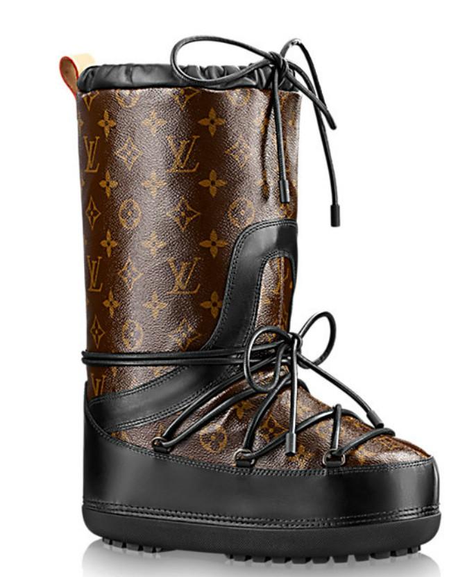 louis vuitton moon boots
