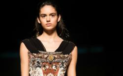 Mary Katrantzou fall 2018, london fashion