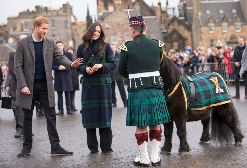 meghan markle, prince harry, scotland