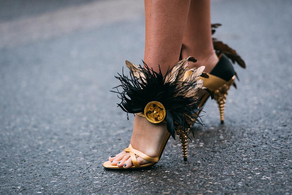 milan fashion week, fall 2018, street style, prada