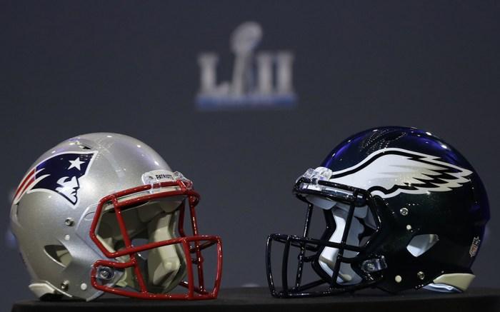 New England Patriots Philadelphia Eagles Super Bowl LII