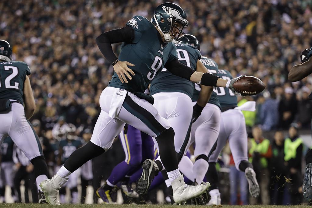 Philadelphia Eagles quarterback Nick Foles Under Armour UA Highlight MC 2.0 Boa