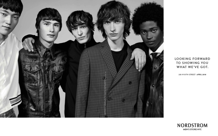 "Nordstrom ""Looking Forward"" men's campaign"
