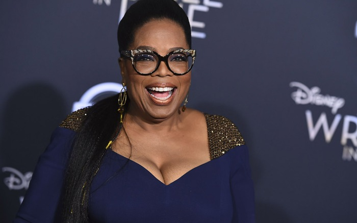 Oprah, a wrinkle in time movie, premiere 2018