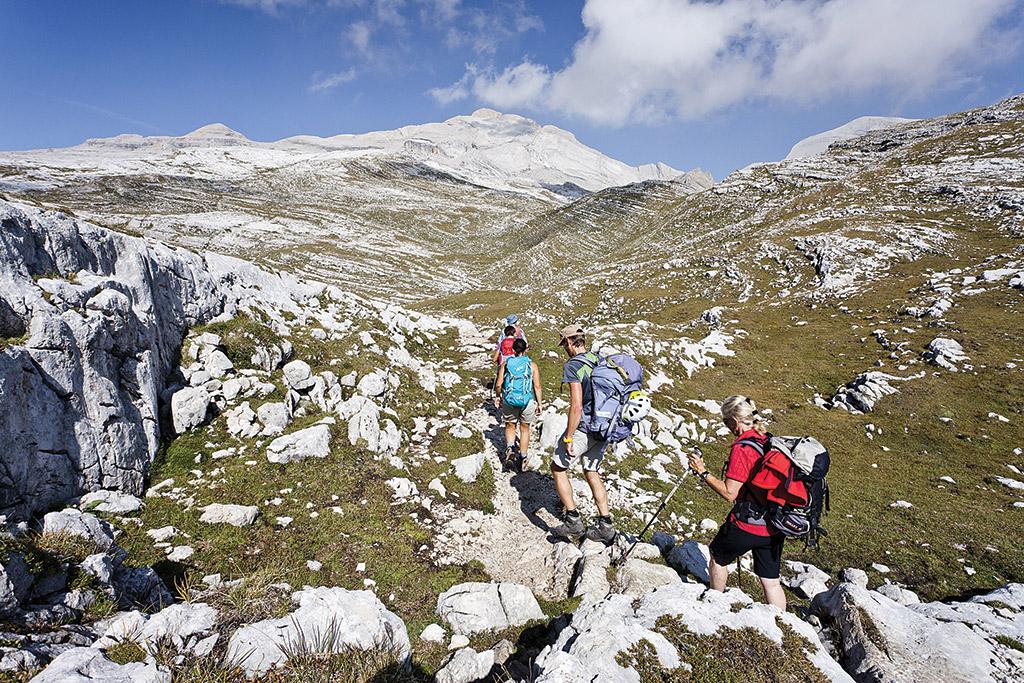 group hike hikers hiking