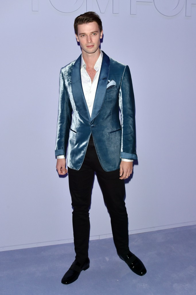 Patrick Schwarzenegger, new york men's fashion week