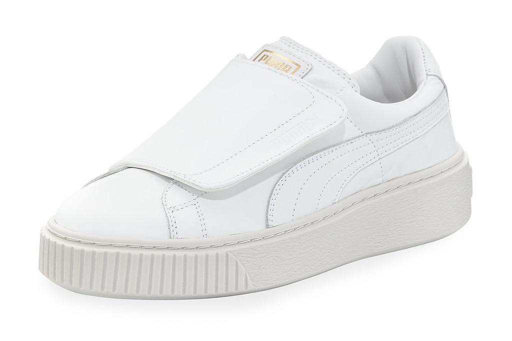 Puma Wide-Strap Platform Sneaker