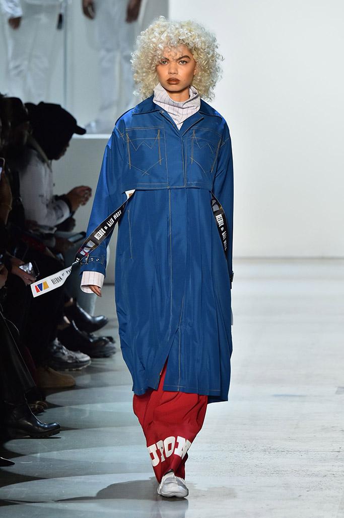 pyer moss, reebok, fall 2018, ready to wear, new york fashion week