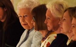 queen elizabeth ii, front row, richard
