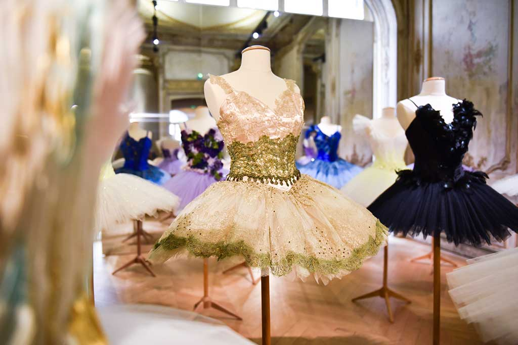 Repetto spring 2018 installation in Paris.