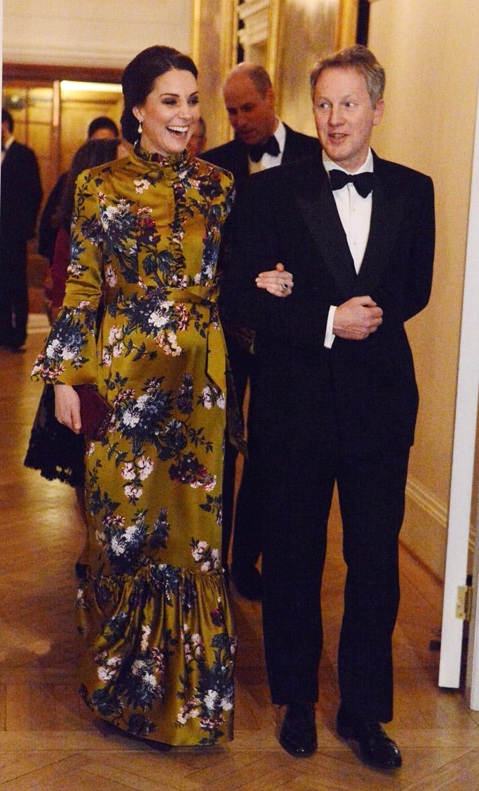 kate middleton stockholm floral dress