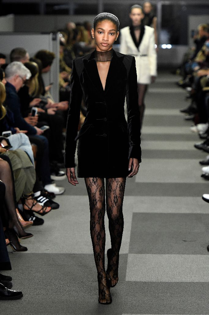 alexander wang fall 2018, new york fashion week