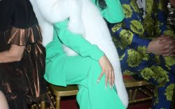 Cardi B in the Front Row at NYFW