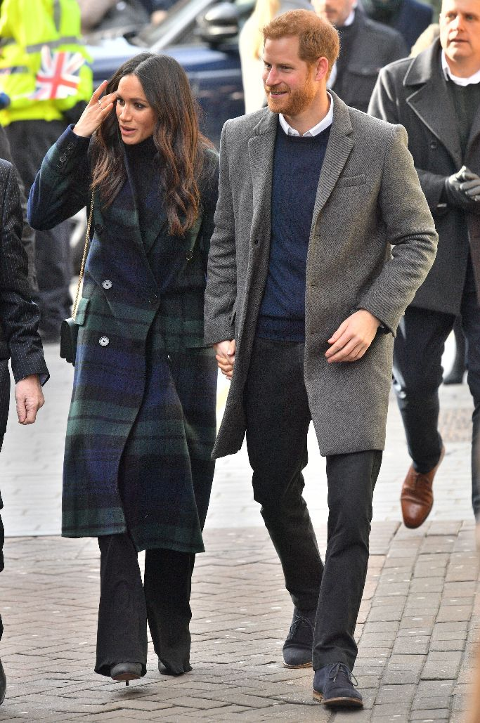 veronica beard, burberry, meghan markle, prince harry, scotland