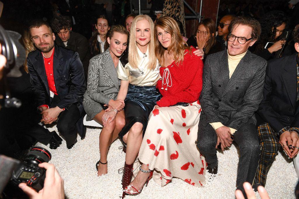 Margot Robbie Laura Dern Nicole Kidman Kyle MacLachlan Calvin Klein FAll 2018