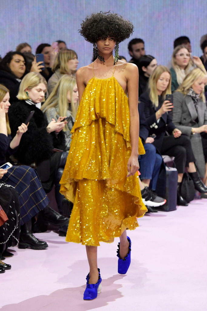 mulberry fall 2018 ready to wear, london fashion week