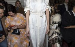 Celebrities in the Front Row at London Fashion Week