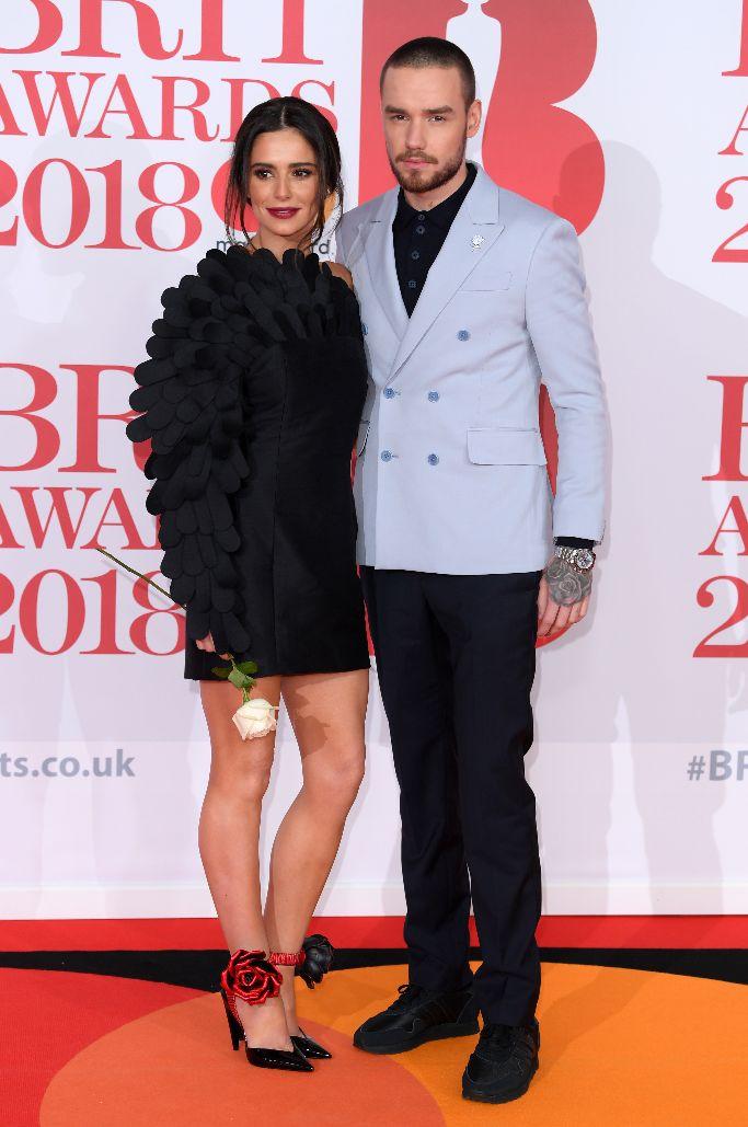 cheryl cole, liam payne, brit awards