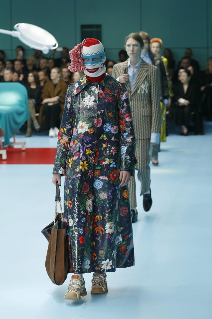 gucci fall 2018 ready to wear, milan fashion week