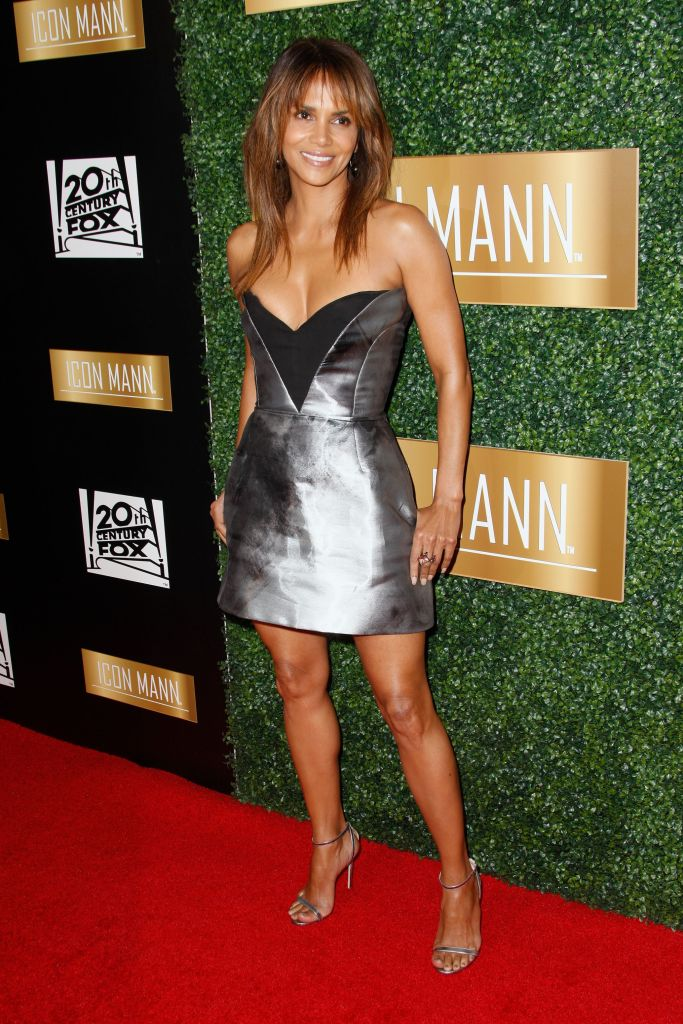 Halle Berry at the Icon Mann pre-Oscar dinner in L.A.