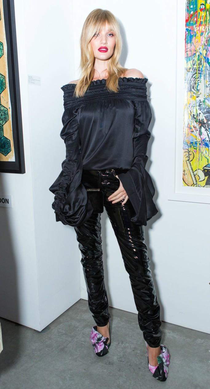 Rosie Huntington-Whiteley, new york fashion week, jimmy choo x off-white collection dinner