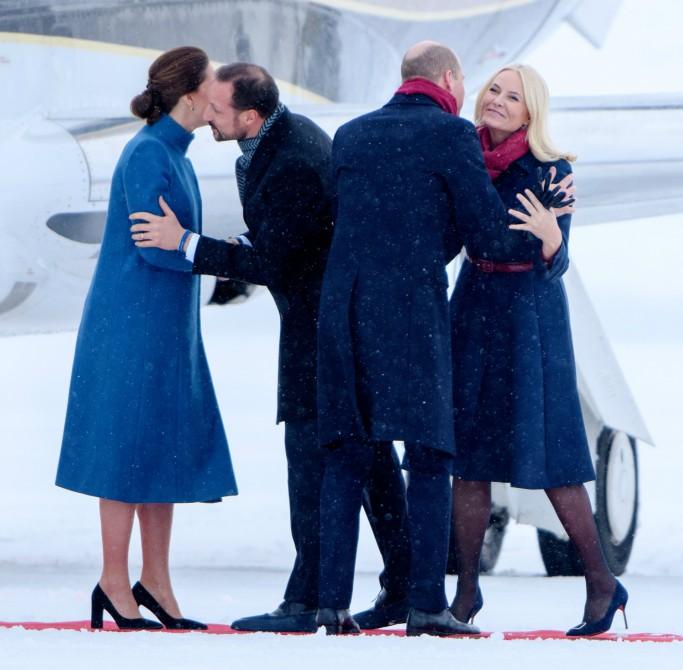 norway royal couple, prince william, kate middleton