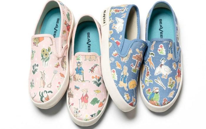 Seavees spring 2018 peter rabbit shoes