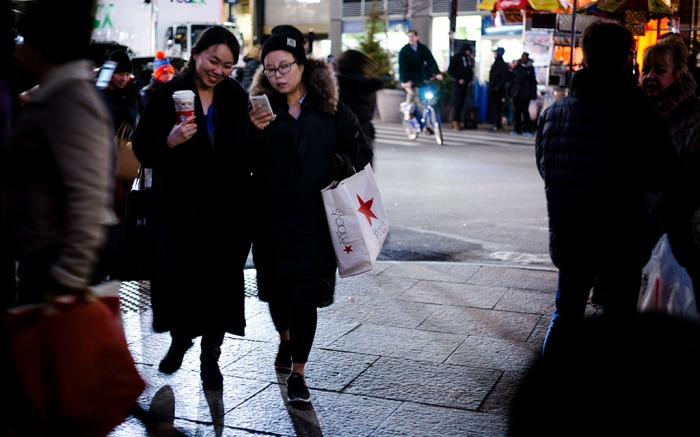 New York City, shopping