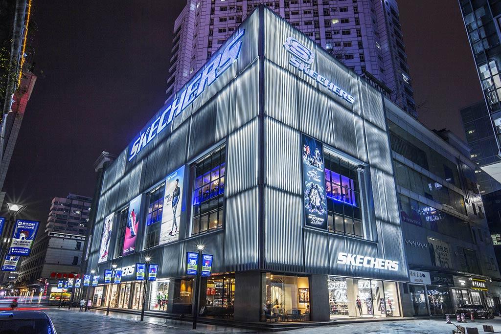 skechers store in china