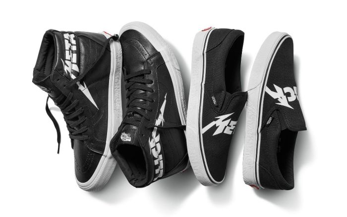 Vans x Metallica collection