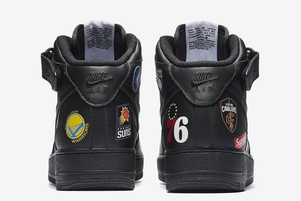 Supreme x NBA x Nike Air Force 1 Mid