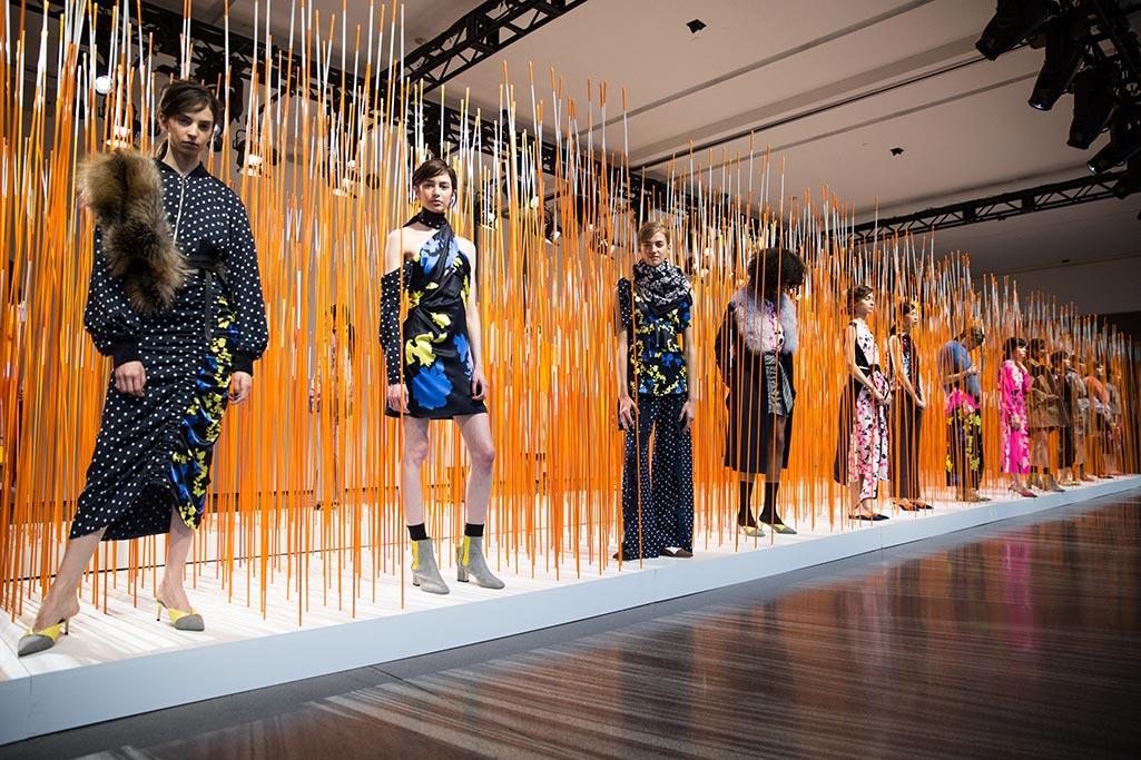tanya taylor, giannico, fall 2018, new york fashion week