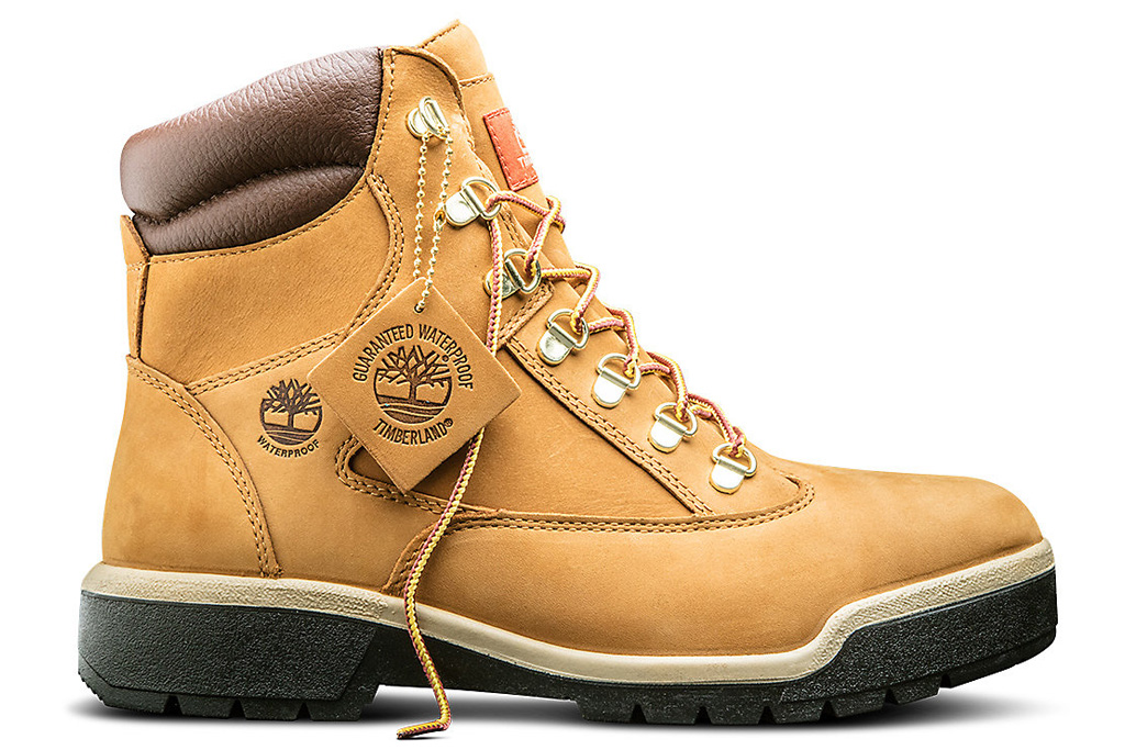 Timberland Waterproof 6-Inch Field Boots Extra Cheese