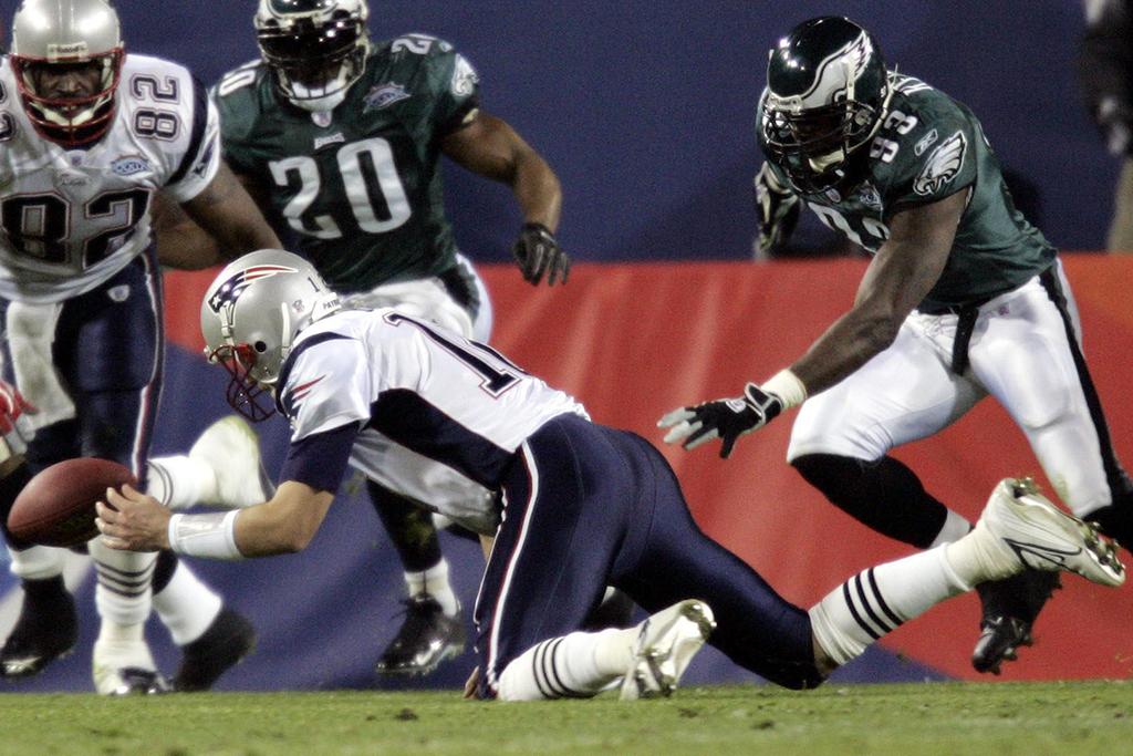 Tom Brady Nike Super Bowl XXXIX